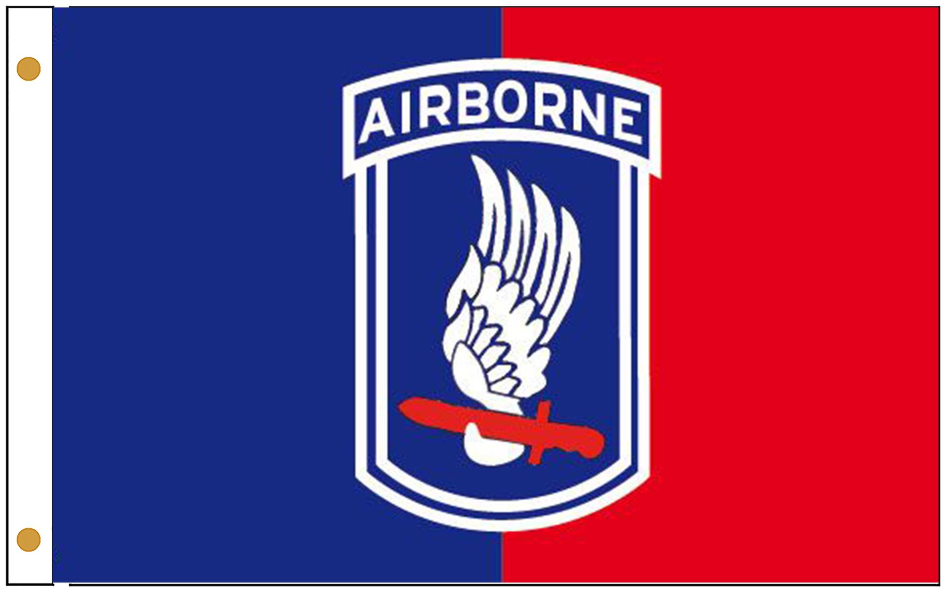 173rd Airborne Brigade Flags