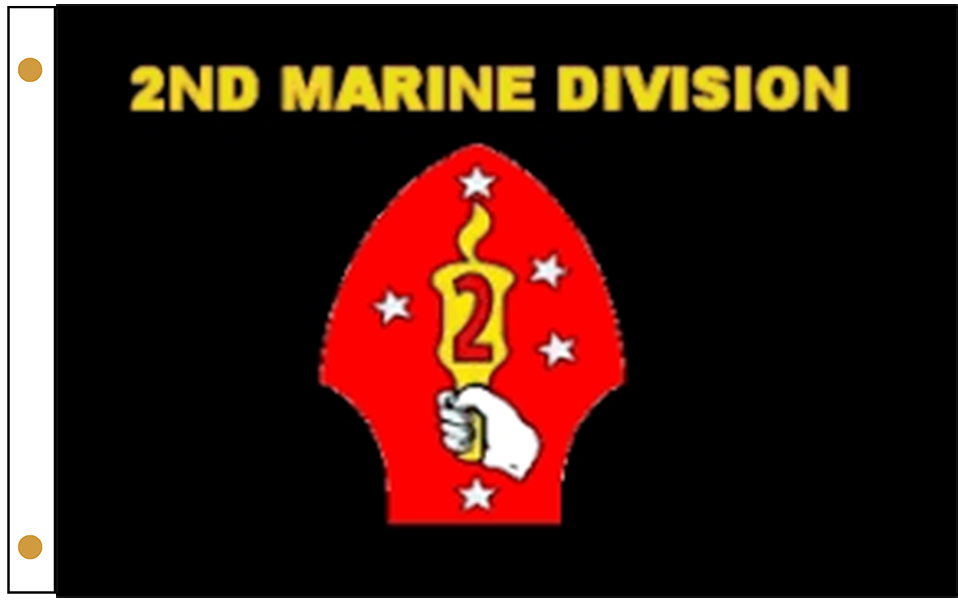 2nd Marine Division Flags
