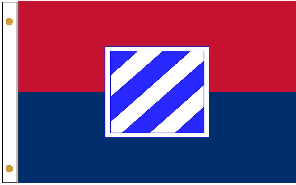 3rd Infantry Division Flags
