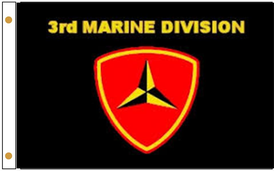 3rd Marine Division Flags