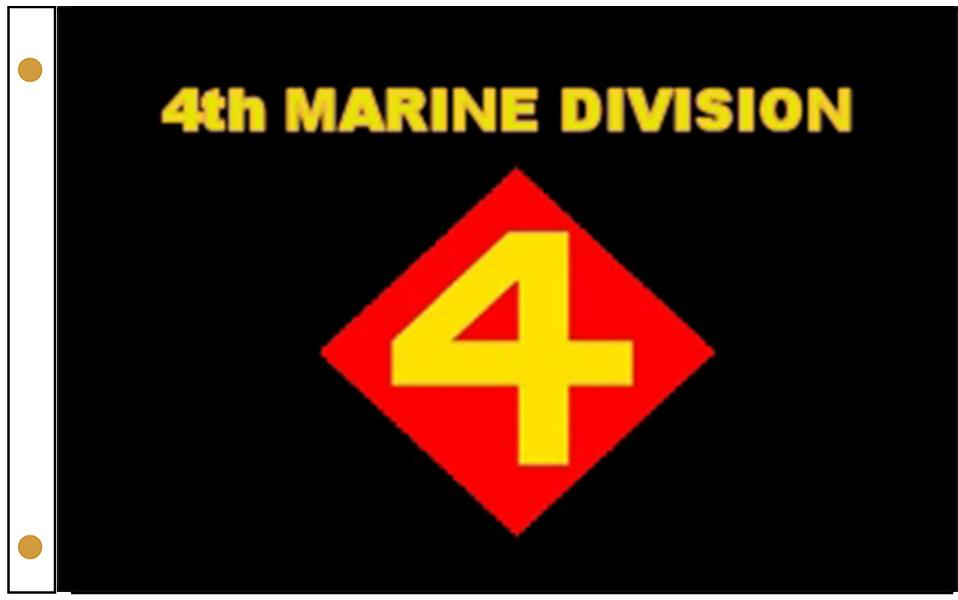4th Marine Division Flags