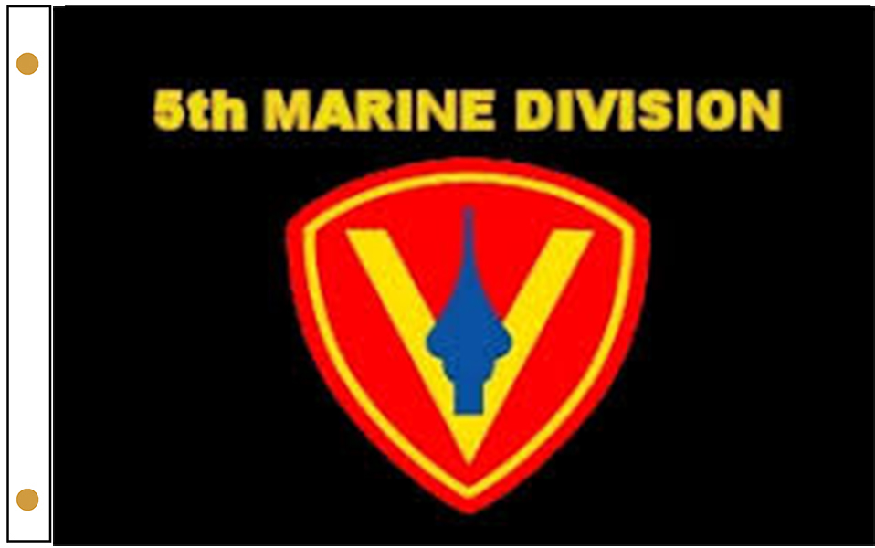 5th Marine Division Flags