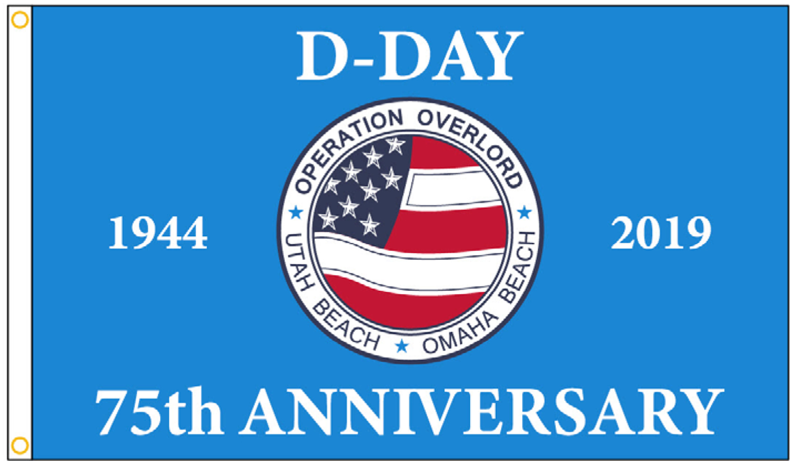 75th Anniversary of D-Day Flags
