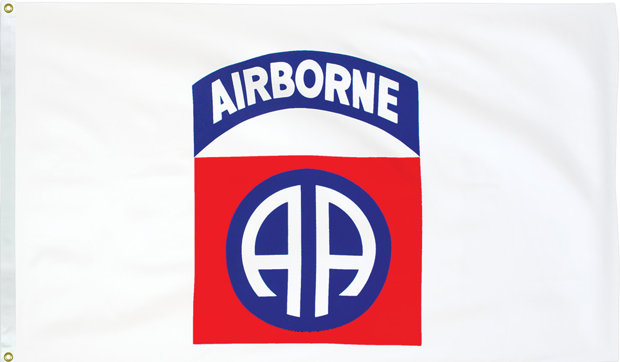 82nd Airborne Flags
