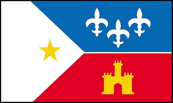 Acadiana Flags
