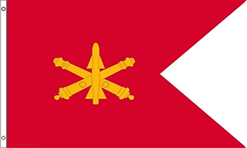 Air Defense Artillery Guidons Flags