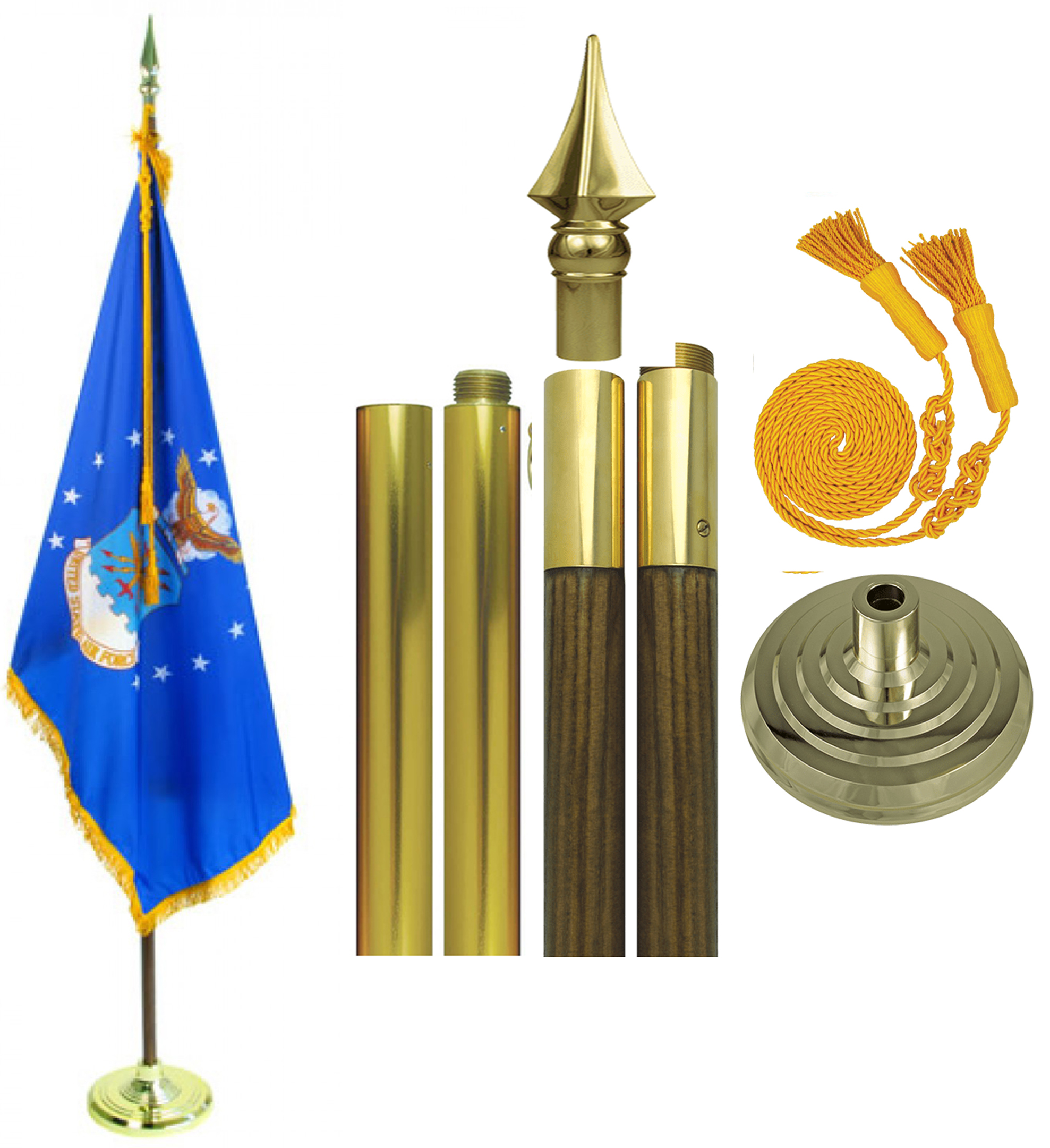 Air Force Parade Flag Sets
