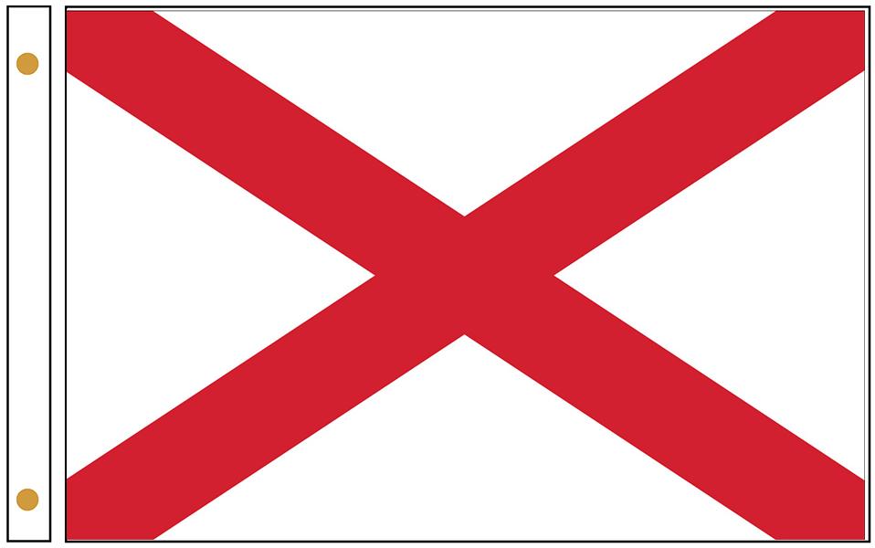 Alabama State Flags