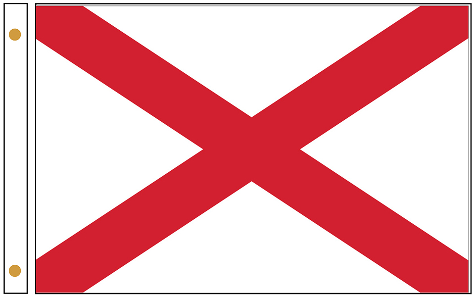 Alabama State Flags