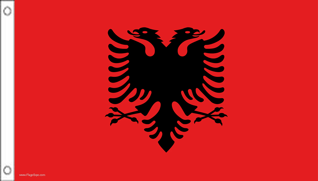 Albania Official Government Flags