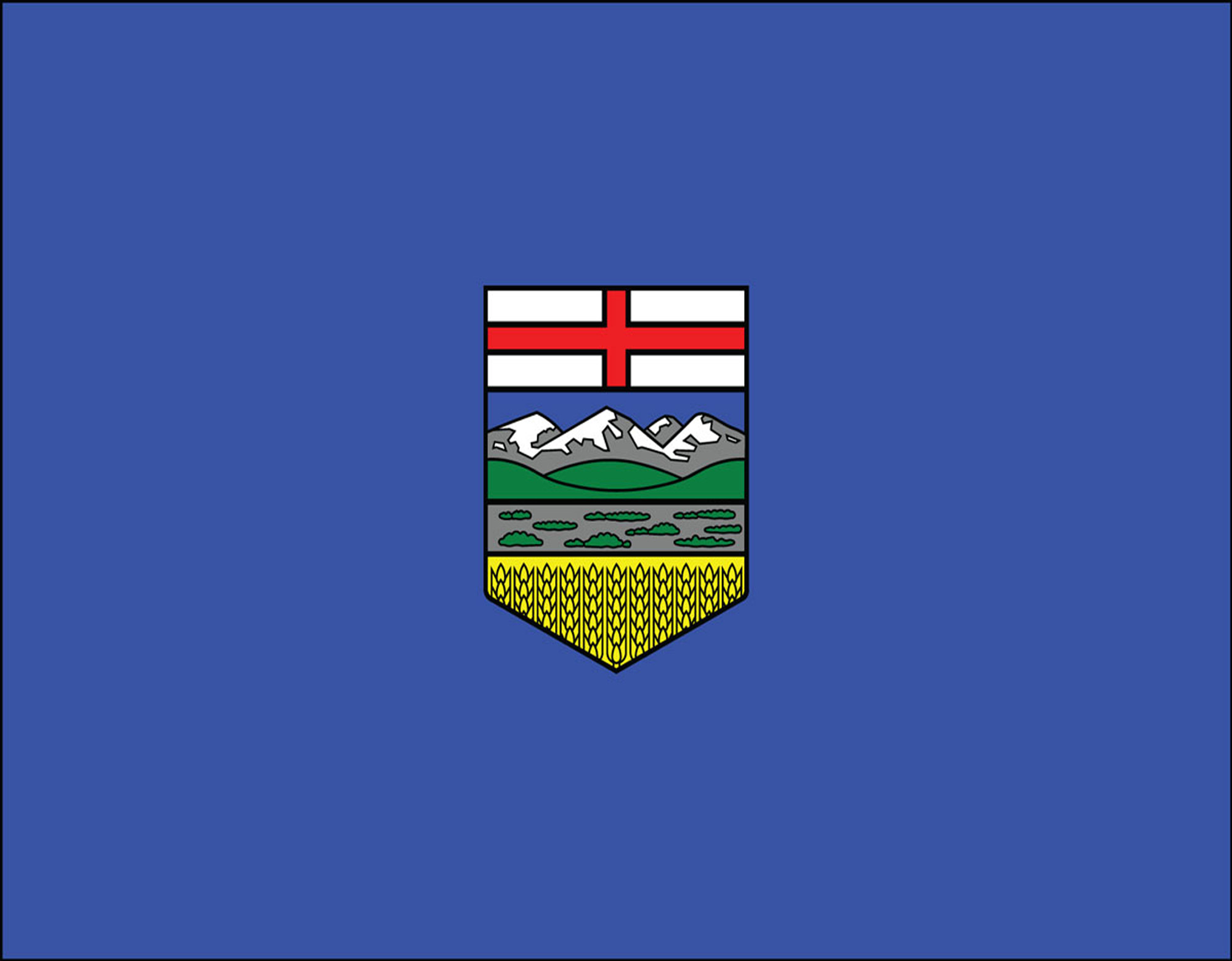 Alberta Official Government Flags