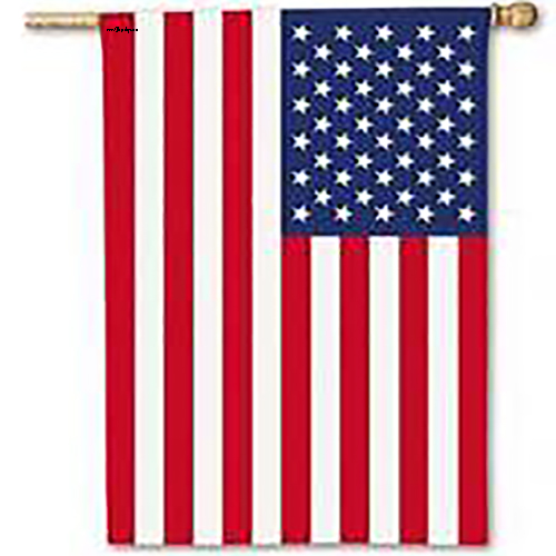 American Flags with sleeve