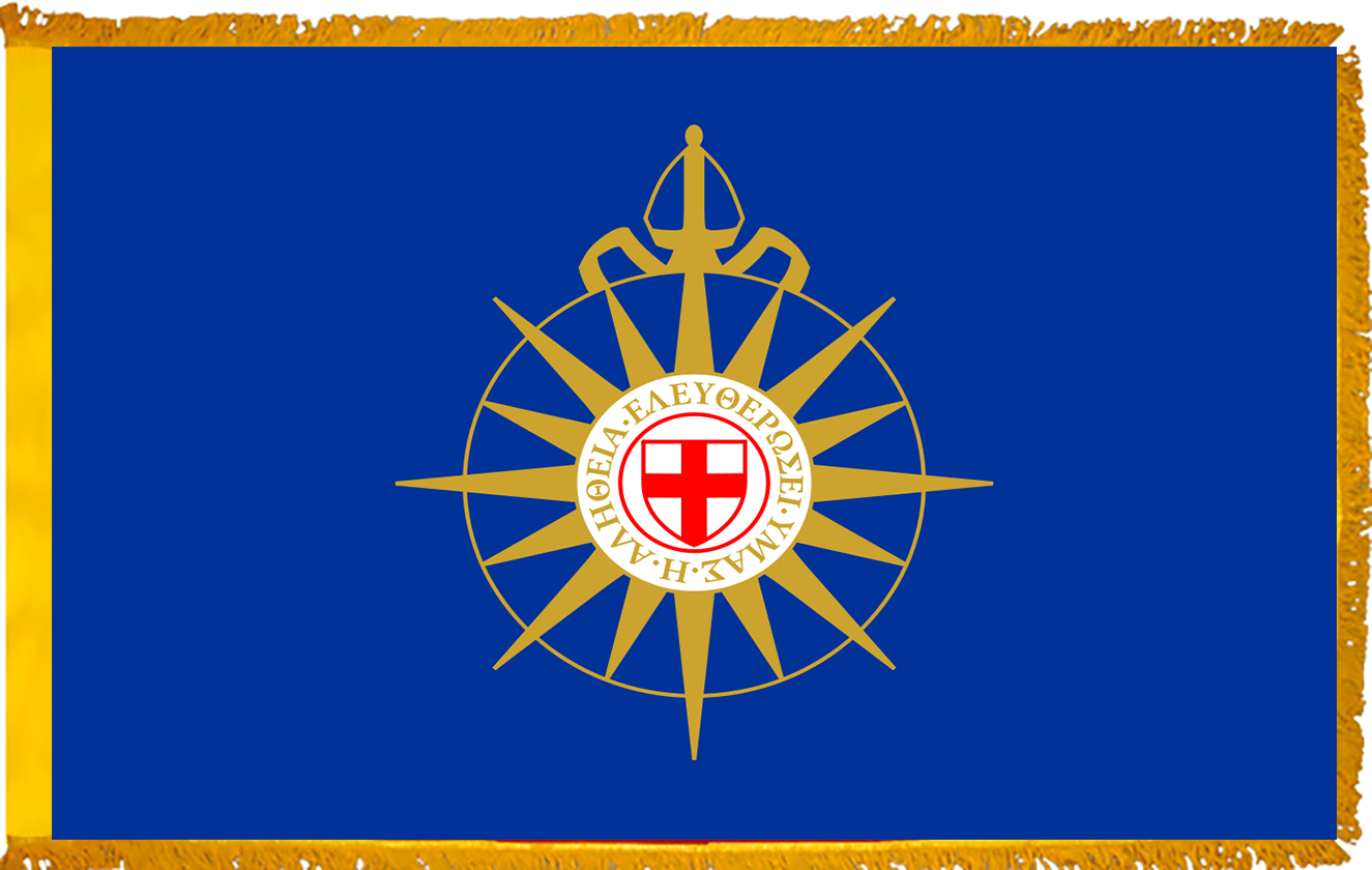 Anglican Church Indoor Flags