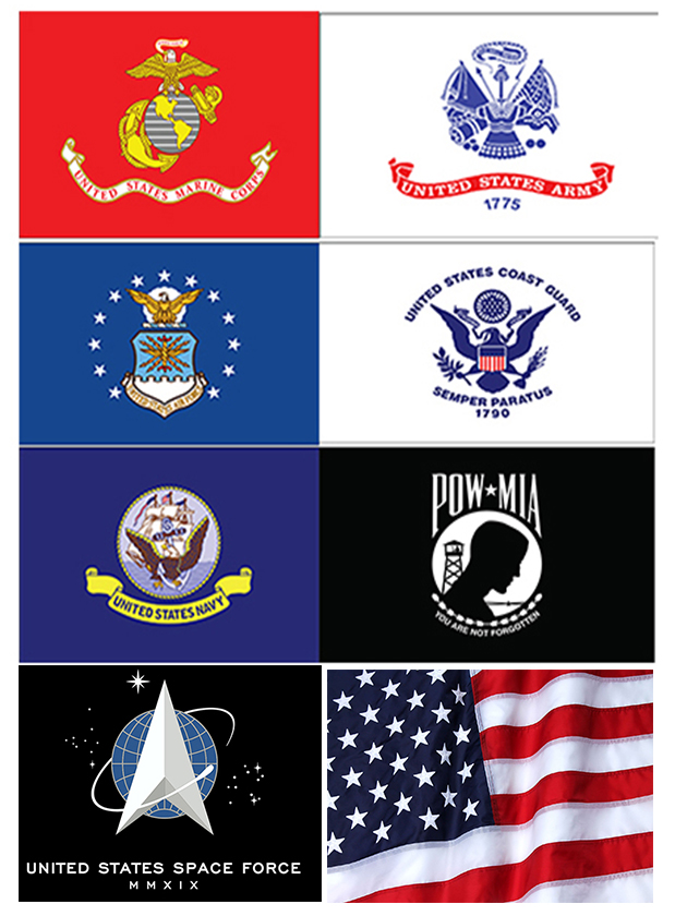 Armed Forces Outdoor Flags