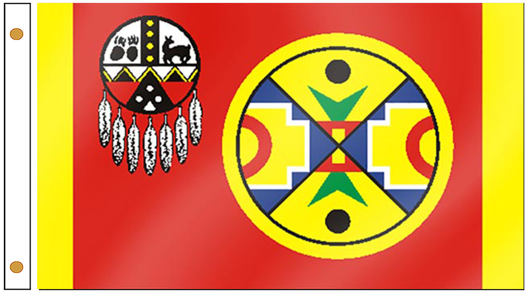 Aroostook Band of Micmac Flags