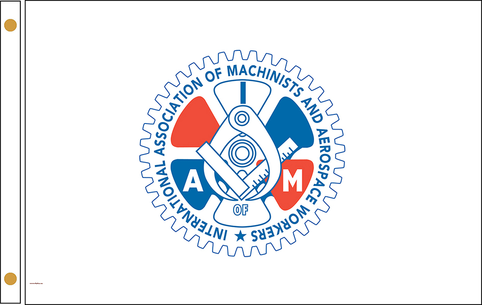 Assoc. of Machinists and Aerospace Workers Flags