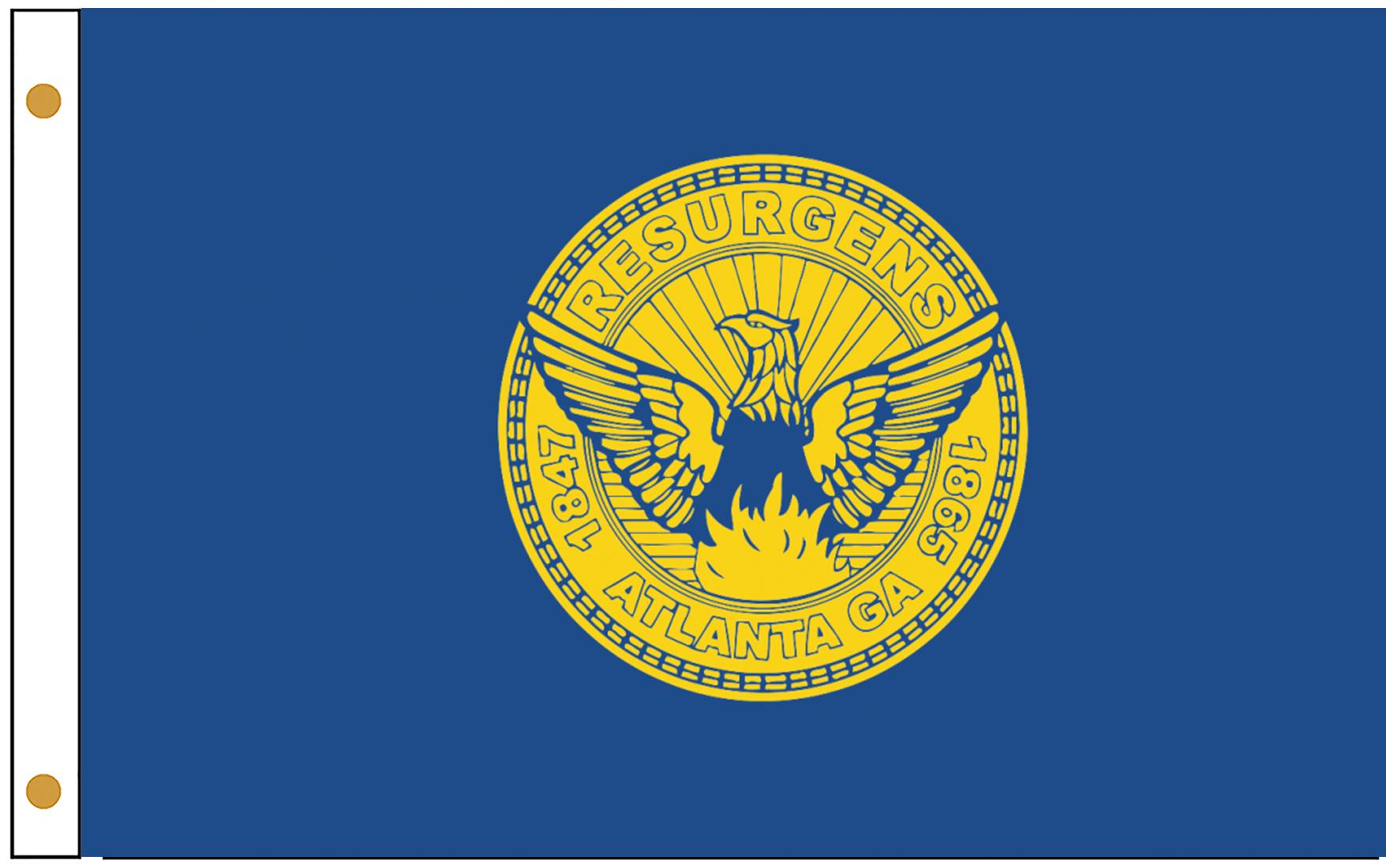Atlanta City Flags