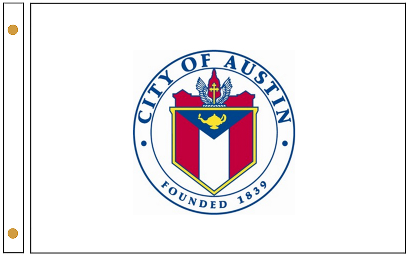 Austin TX Flags