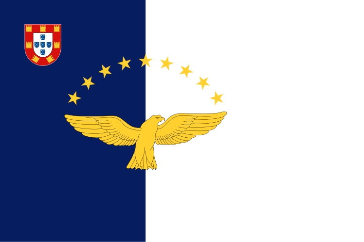 Azores Official Government Flags