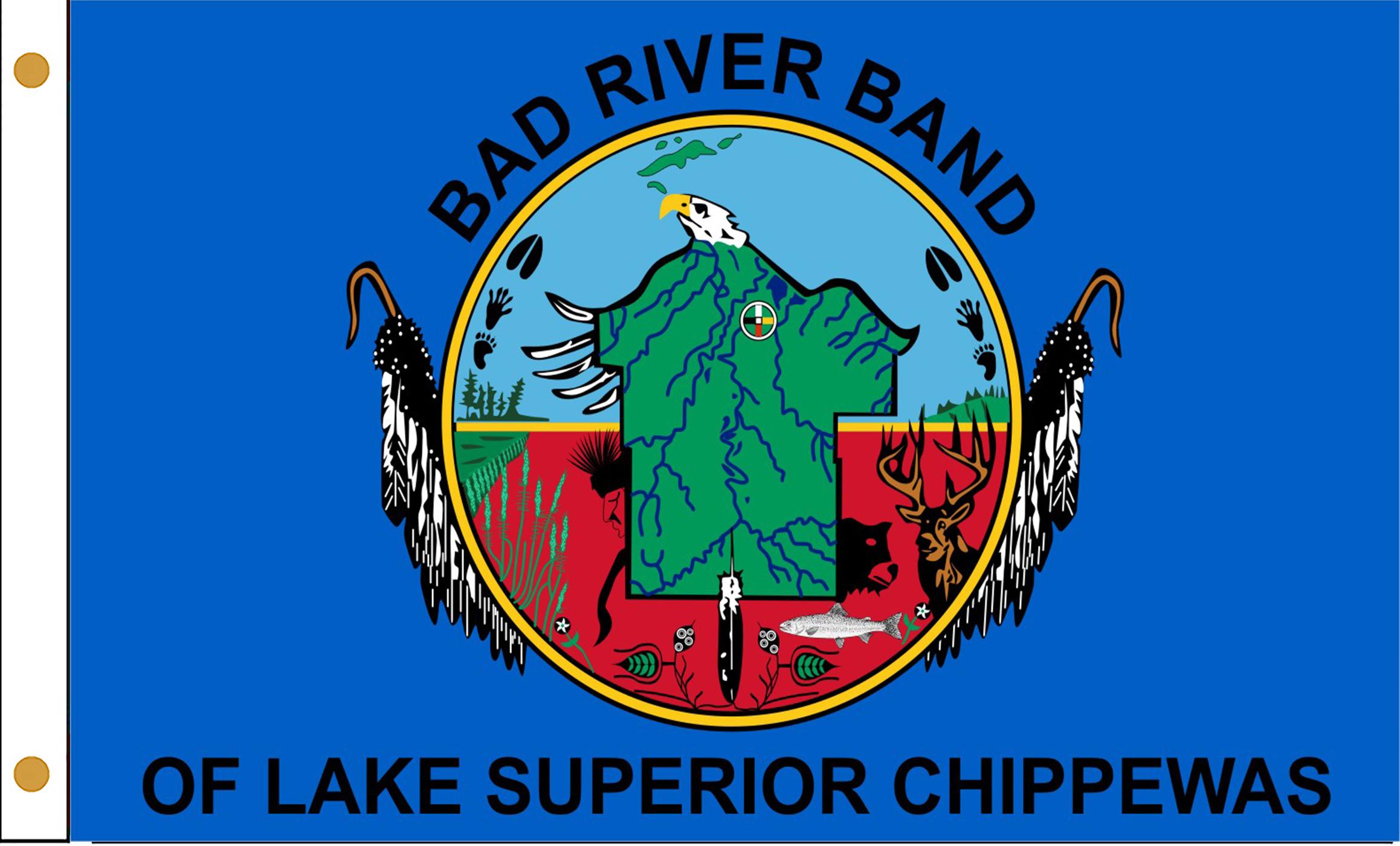 Bad River Band of Chippewa Flags