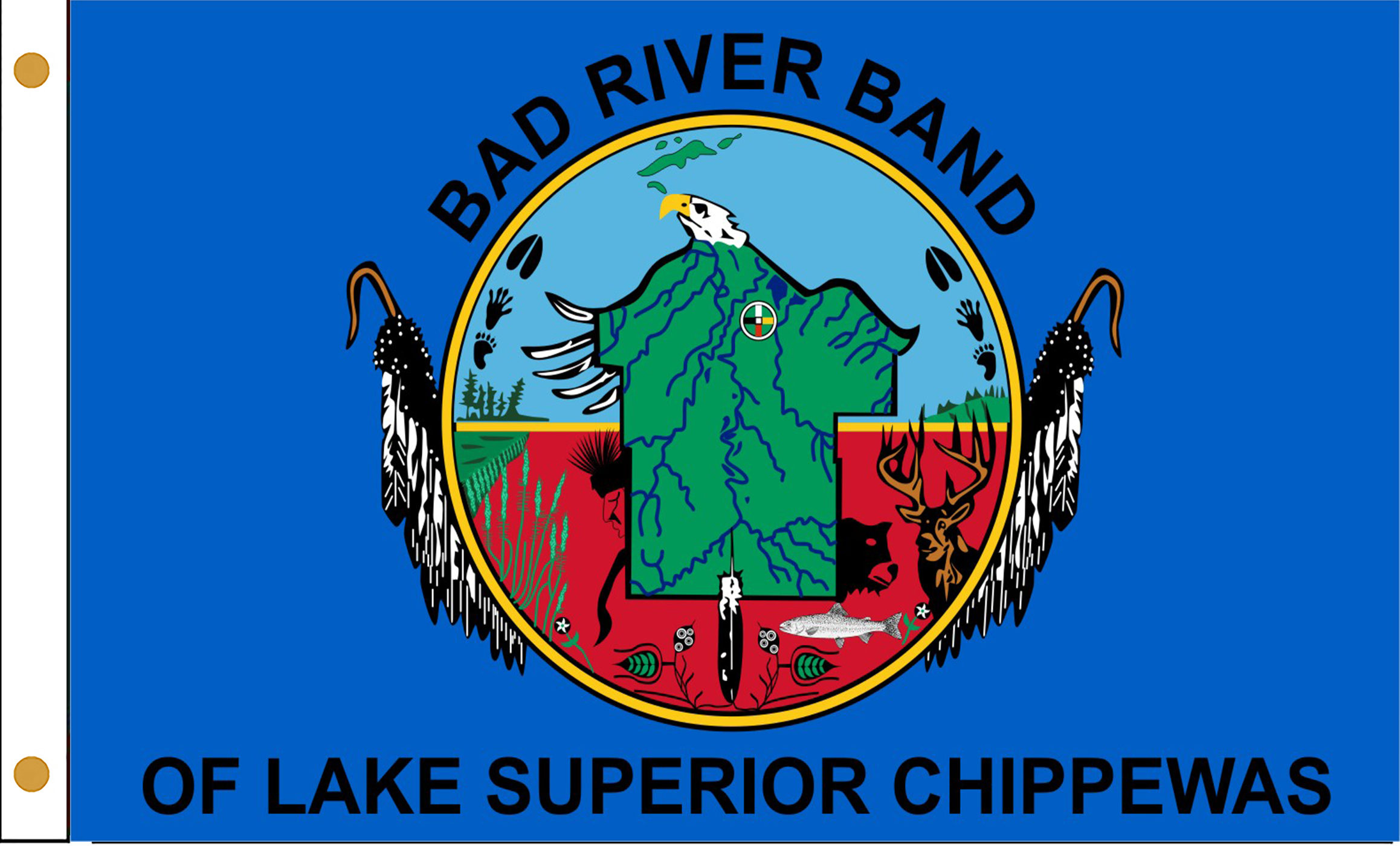 Bad River Band of Chippewa Flags