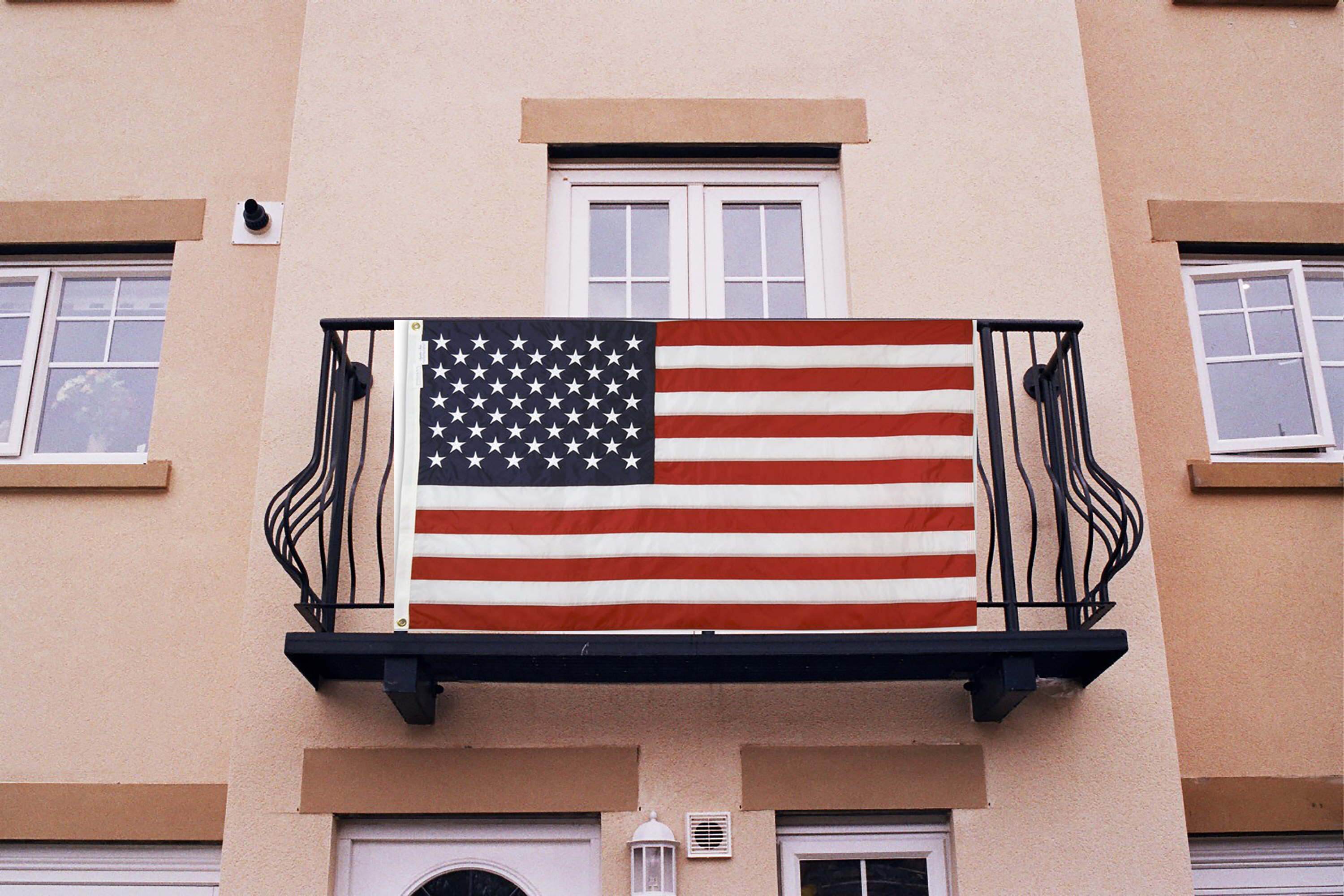 Balcony Flags