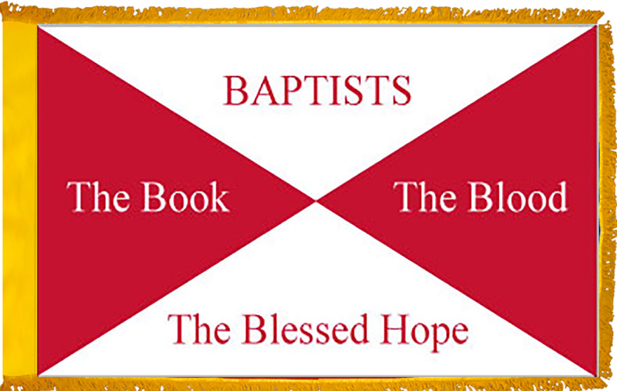 Baptist Church Indoor Flag