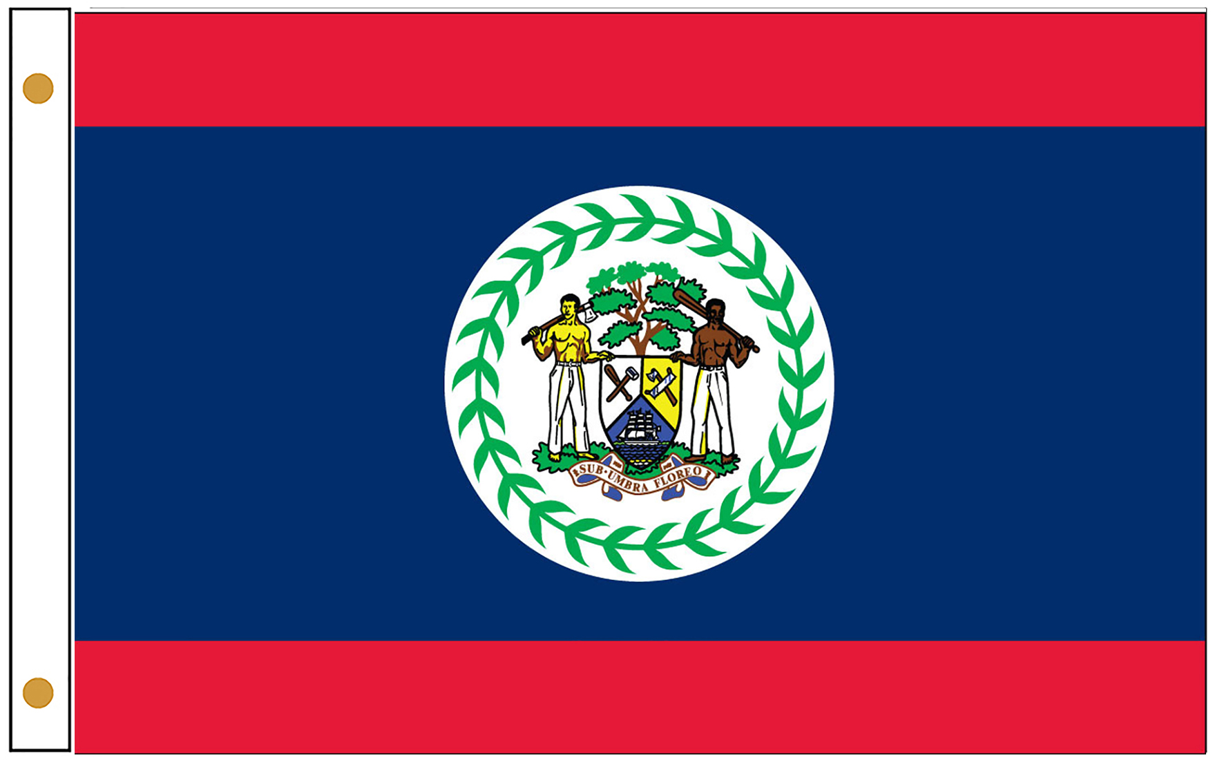Belize Official Government Flags