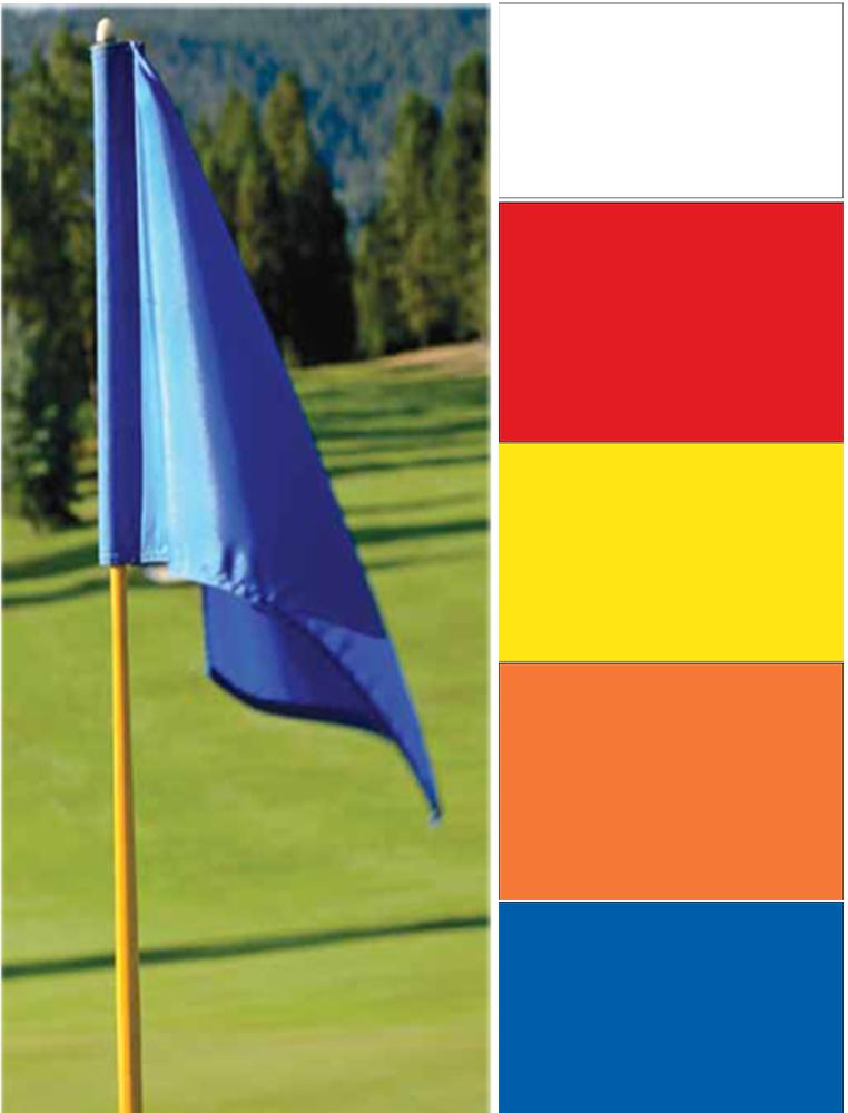 Blank Golf Flags