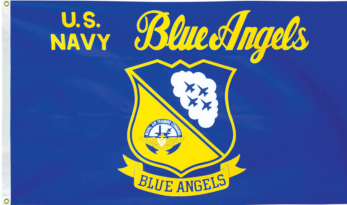 Blue Angels Flags