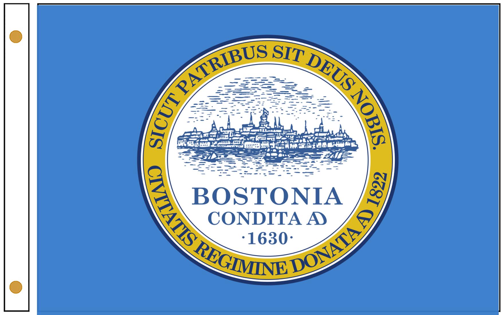 Boston City Flags