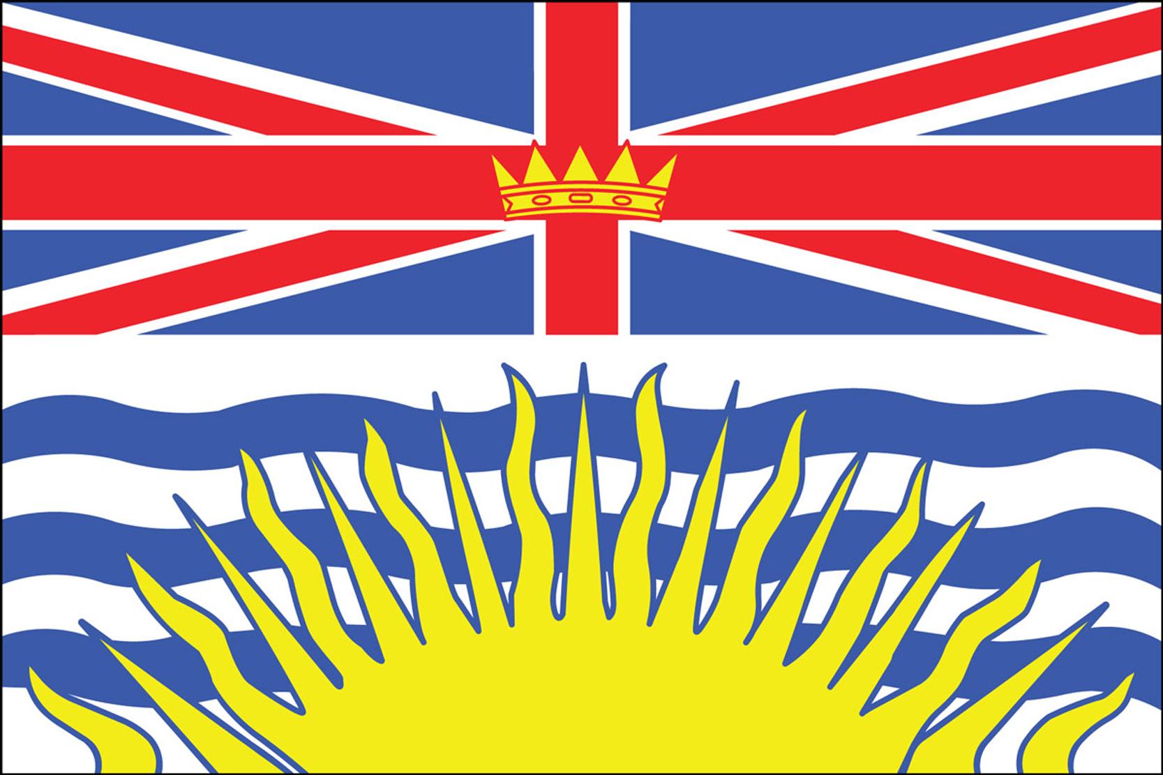 British Columbia Flags
