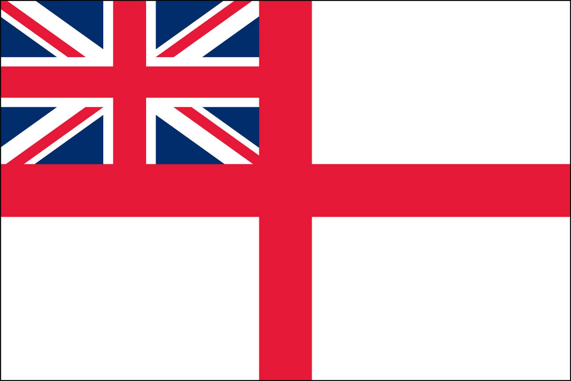 British Navy Flags