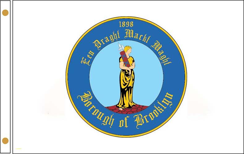 Brooklyn NY Flags
