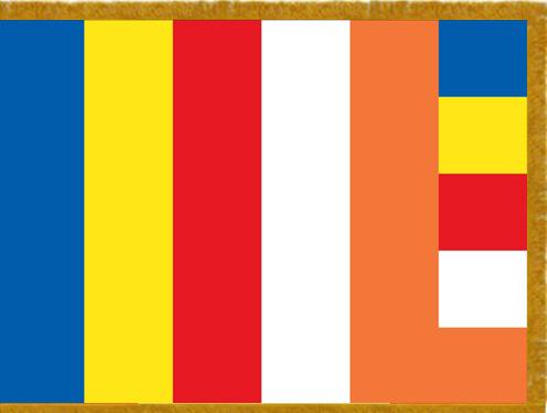 Buddhist Indoor Flags