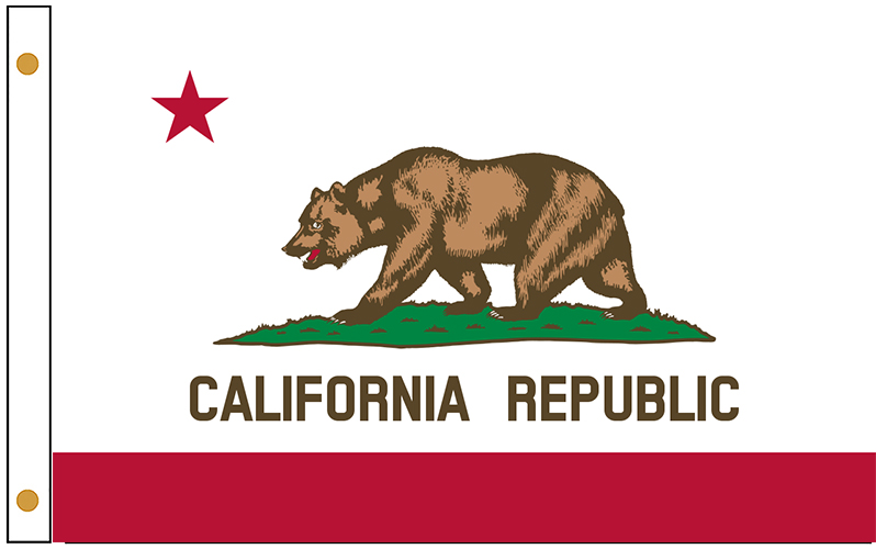 California State Flags