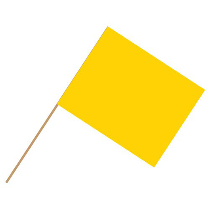 Caution Auto Racing Flags