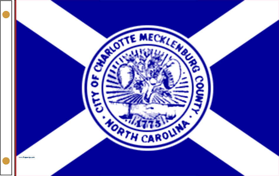 Charlotte NC Flags