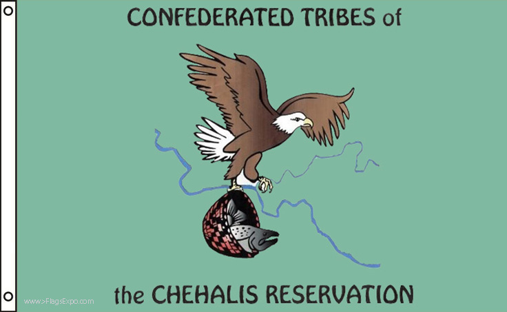 Chehalis Tribe Flags