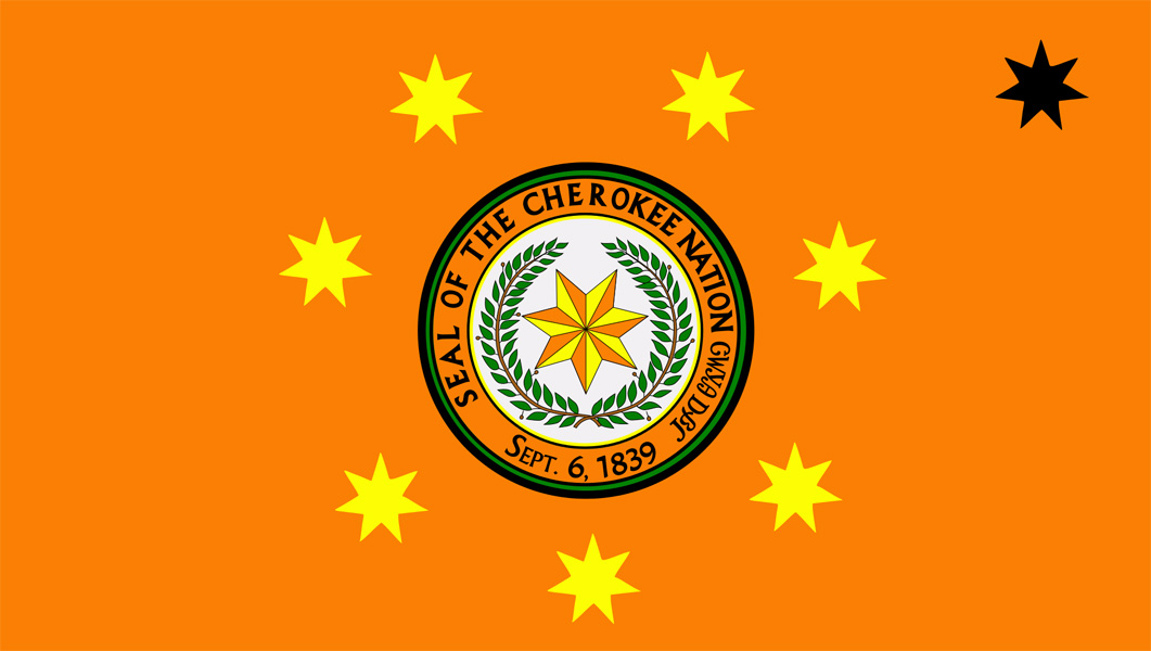 Cherokee Nation Flags