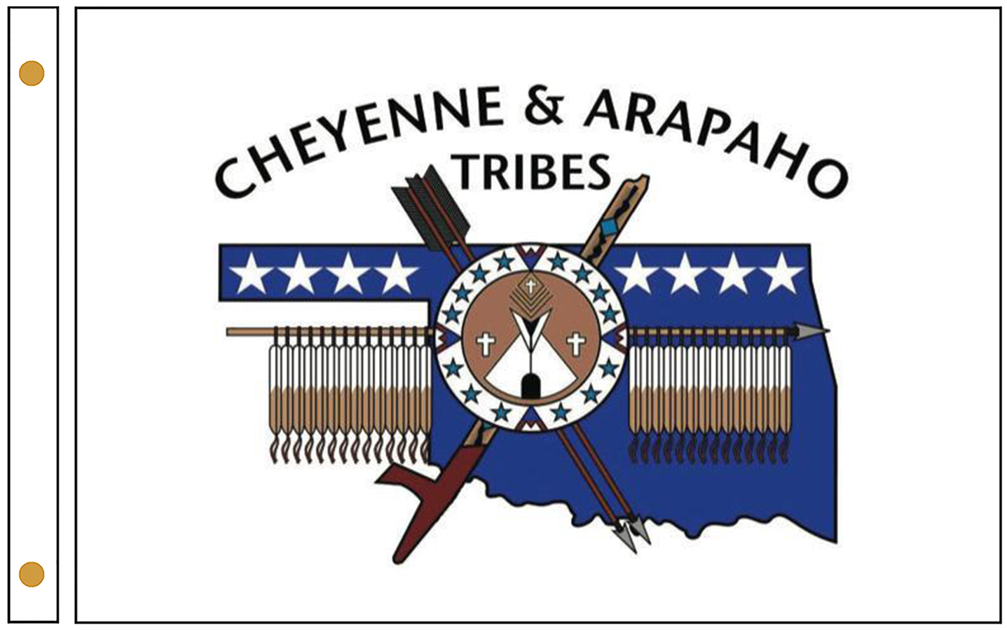 Cheyenne and Arapaho Tribe Flags