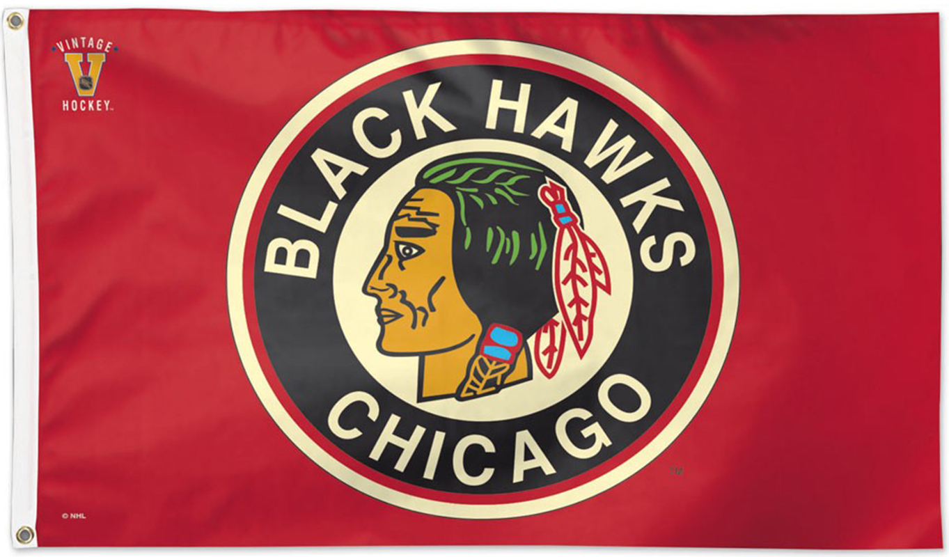 Chicago Blackhawks Flags