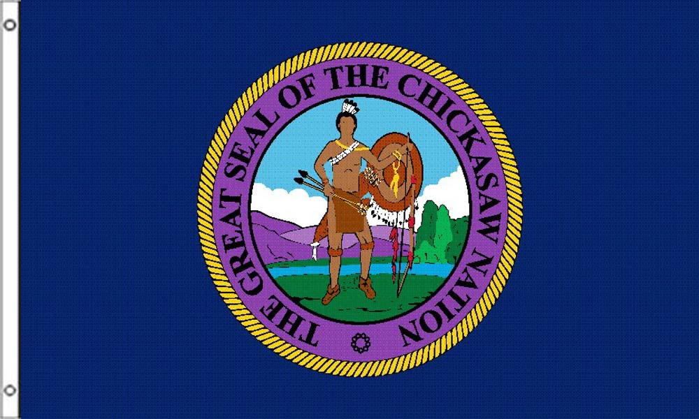 Chickasaw Tribe Flags