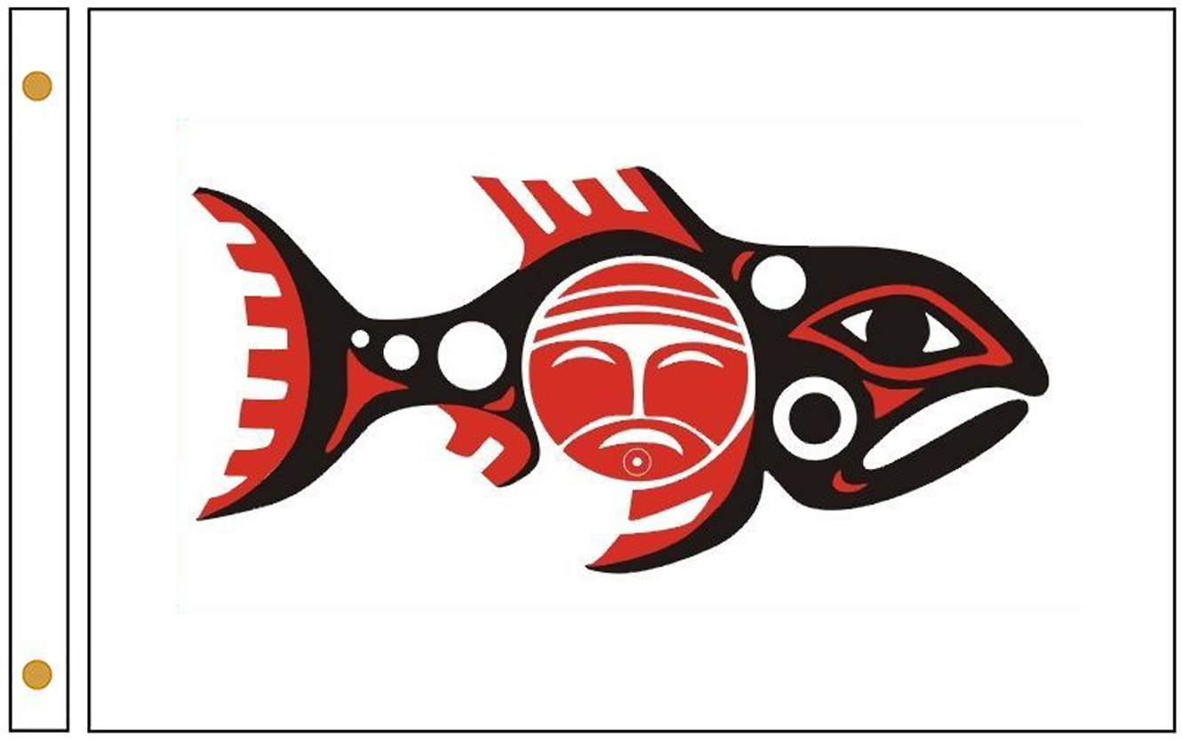 Chinook Tribe Flags