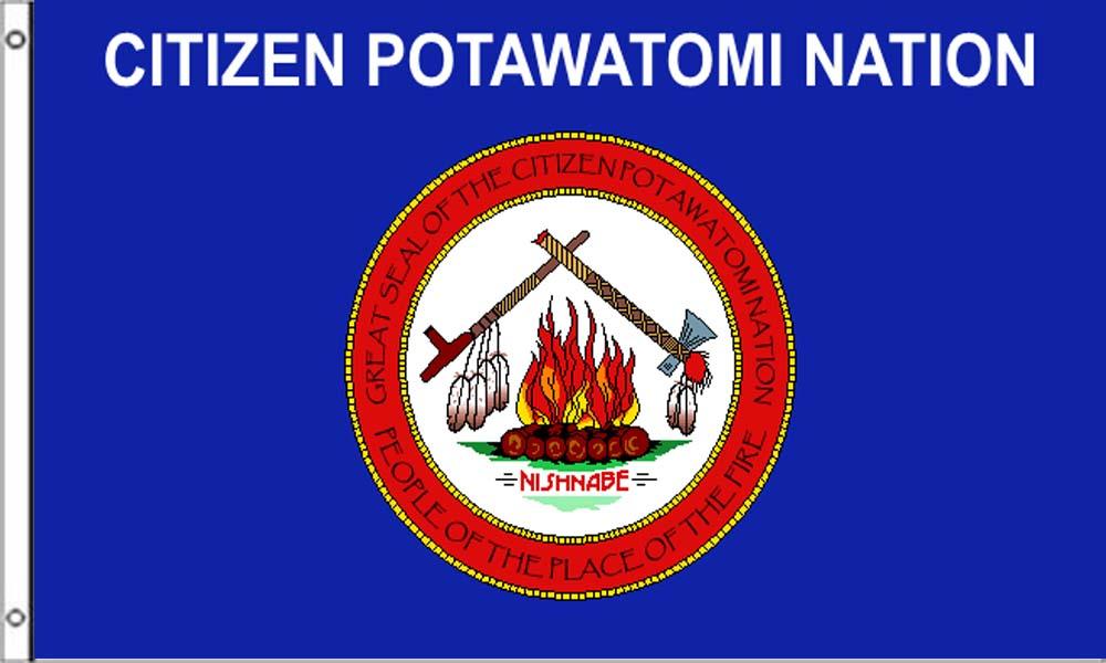 Citizen Potawatomi Tribe Flags