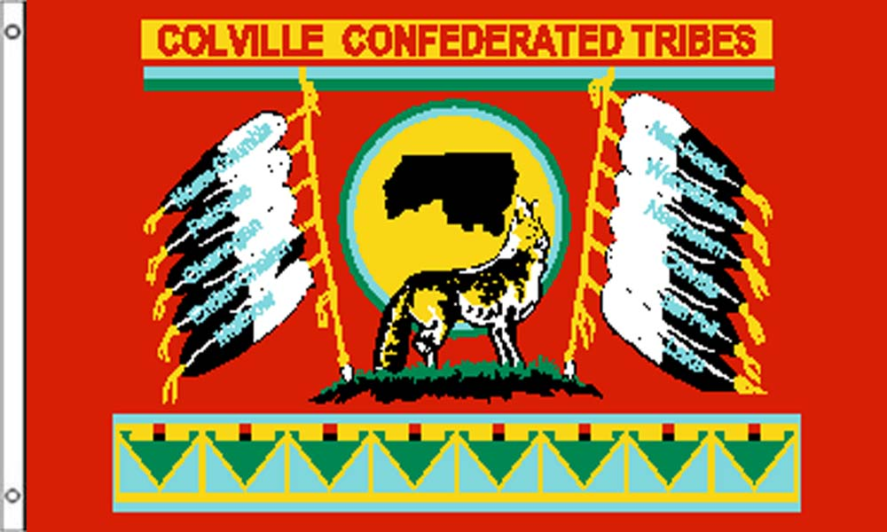 Colville Tribe Flags
