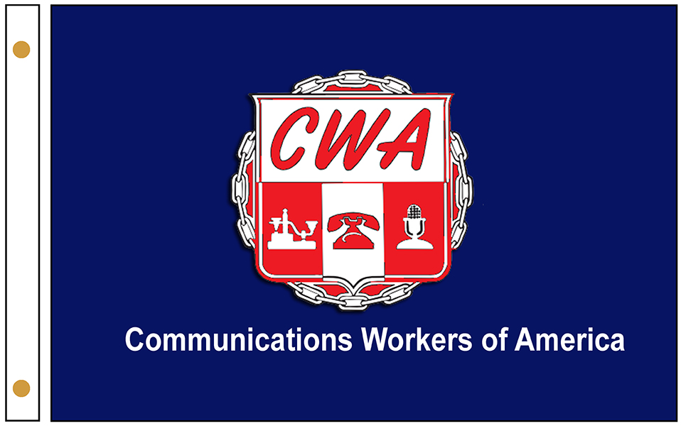 Communications Workers Flags