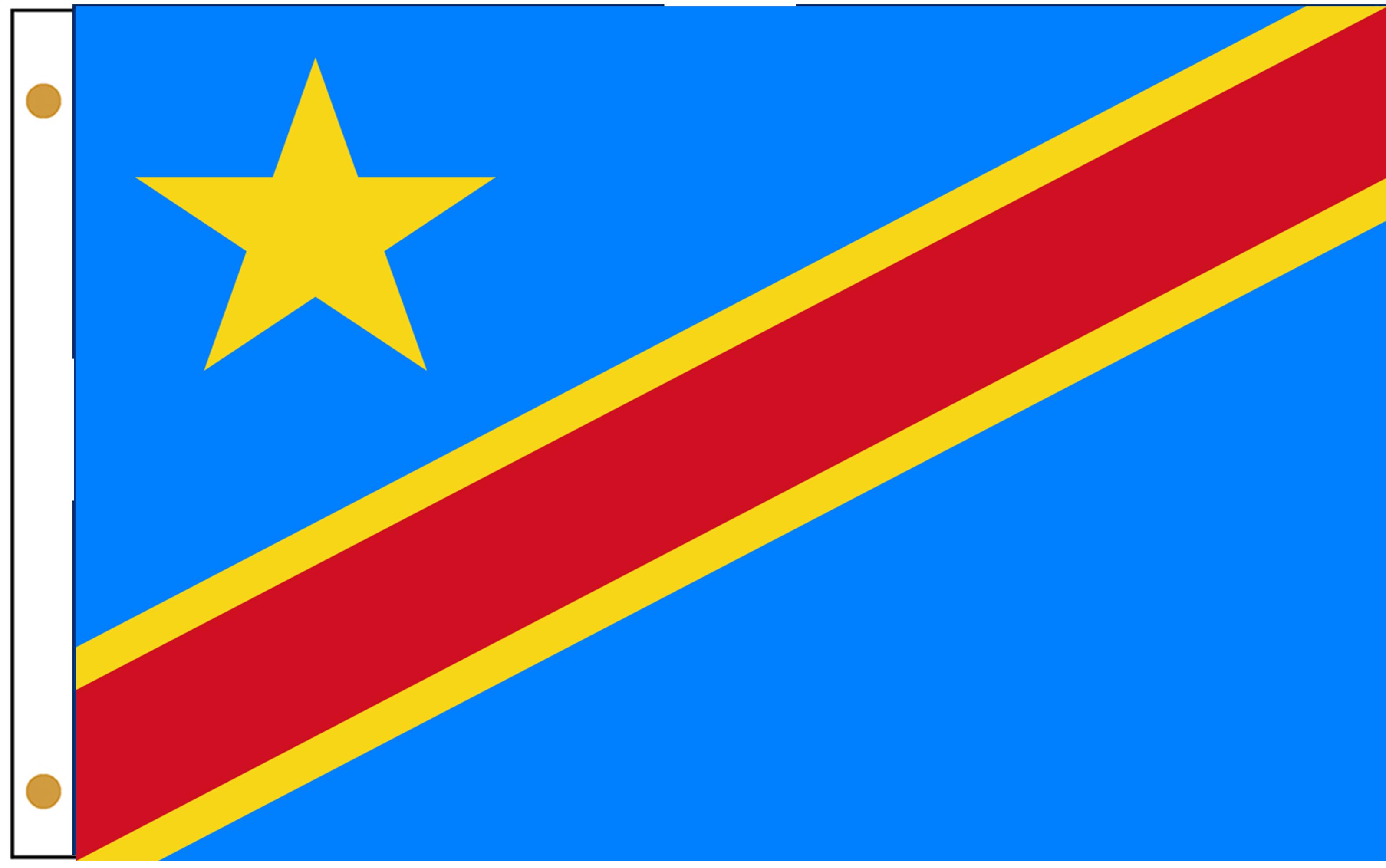 Congo Dem. Rep. Flags