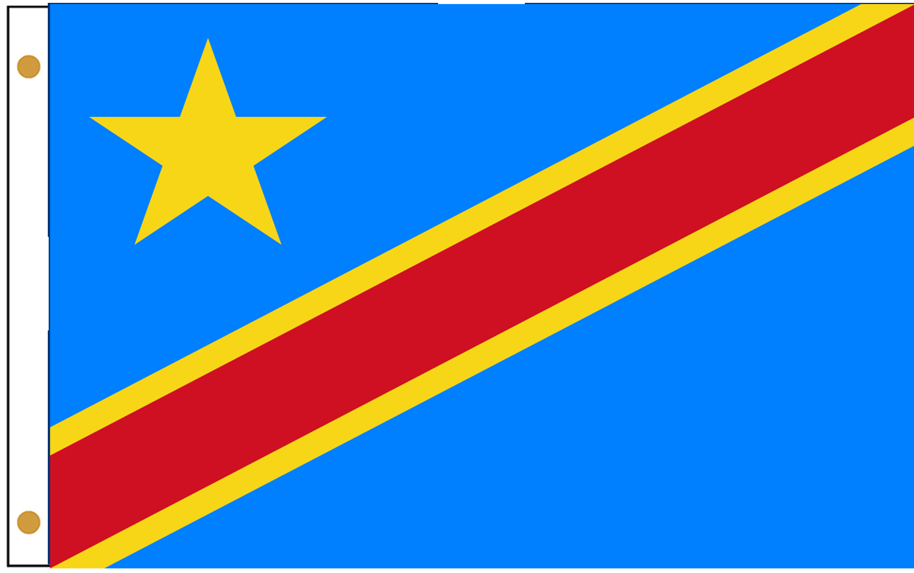 Congo Dem. Rep. Flags