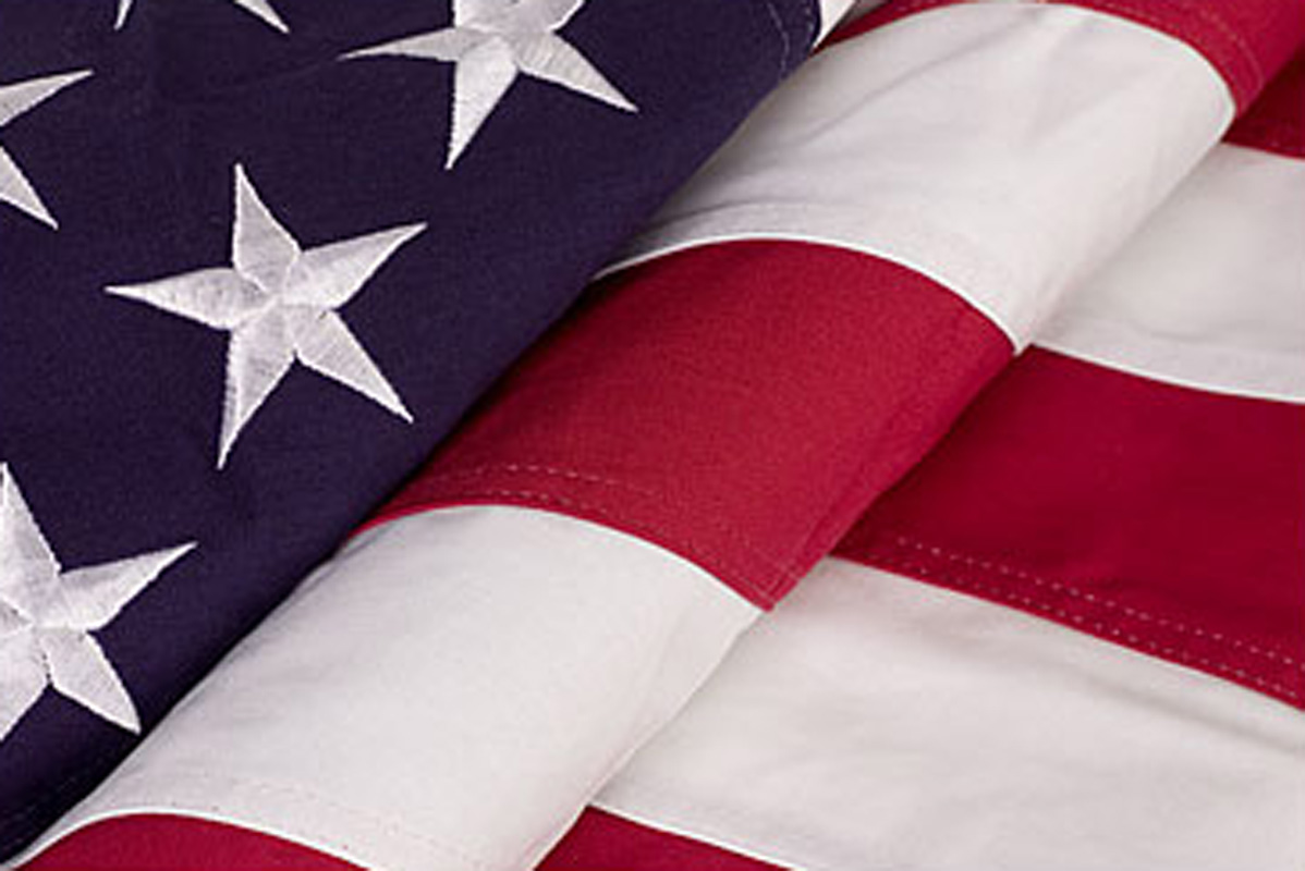 Cotton American Flags, Large Cotton Flags at Flagsexpo com